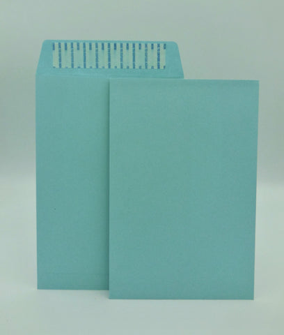 "Cashier Depot 6"" x 9"" Catalog (Open End) Envelopes, Premium 24lb. Blue, Peel & Seal Flap, 500/Box"