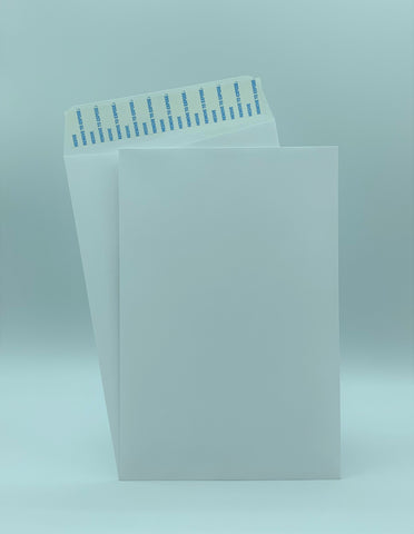 "Cashier Depot 6"" x 9"" Catalog (Open End) Envelopes, Premium 24lb. White, Peel & Seal Flap, 500/Box"