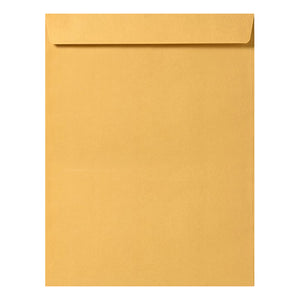 "10"" x 13"" Catalog (Open End) Envelopes, Premium 28lb. Kraft, Gum Flap, 100/Box"