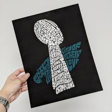 Load image into Gallery viewer, Go Birds Silver Foil