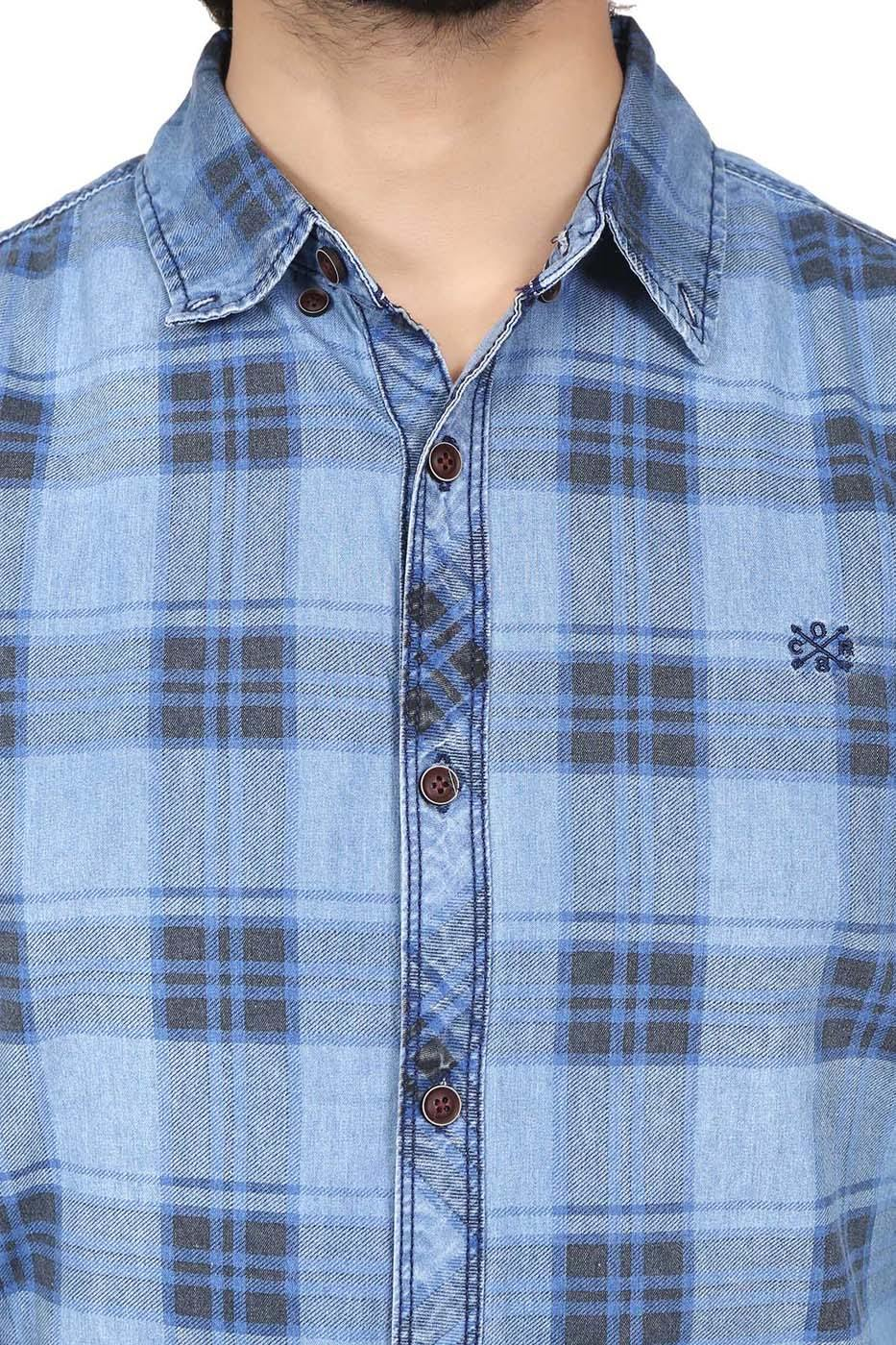 Casual Shirt Denim Blue