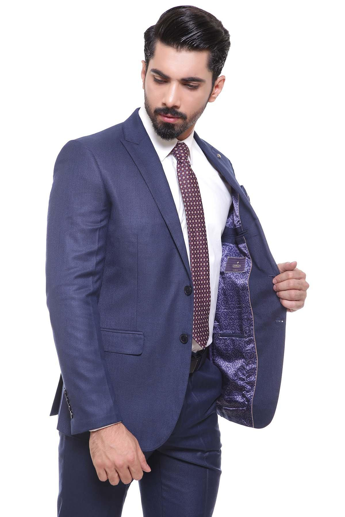 2 PIECE SUIT BLUE - Charcoal - FORMAL WEAR - Suiting