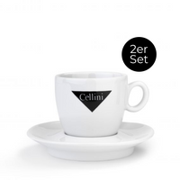 2er Set Cappuccino-Tassen 175ml