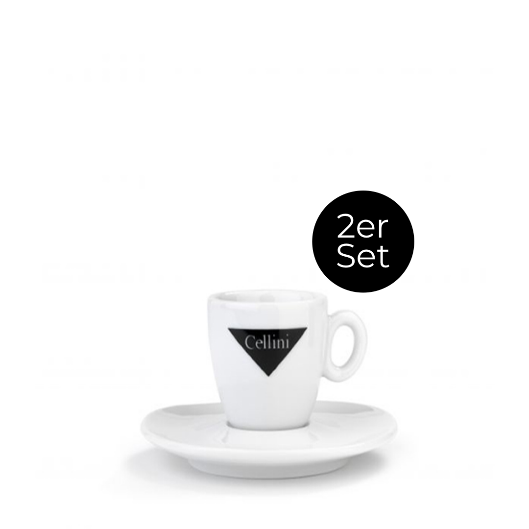 2er Set Espresso-Tassen 60ml