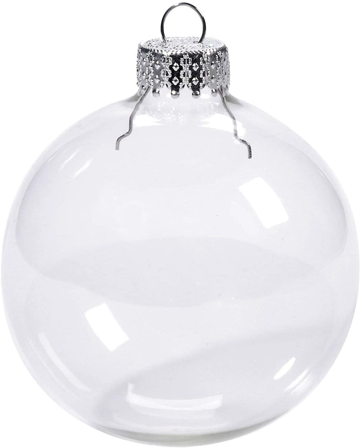 Clear Round Ornament