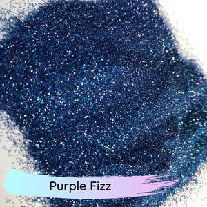 Extra fine colour shifting polyester glitter