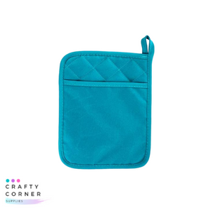 Pocket Pot Holder Teal
