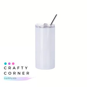Small Skinny STRAIGHT Tumbler - Sublimation
