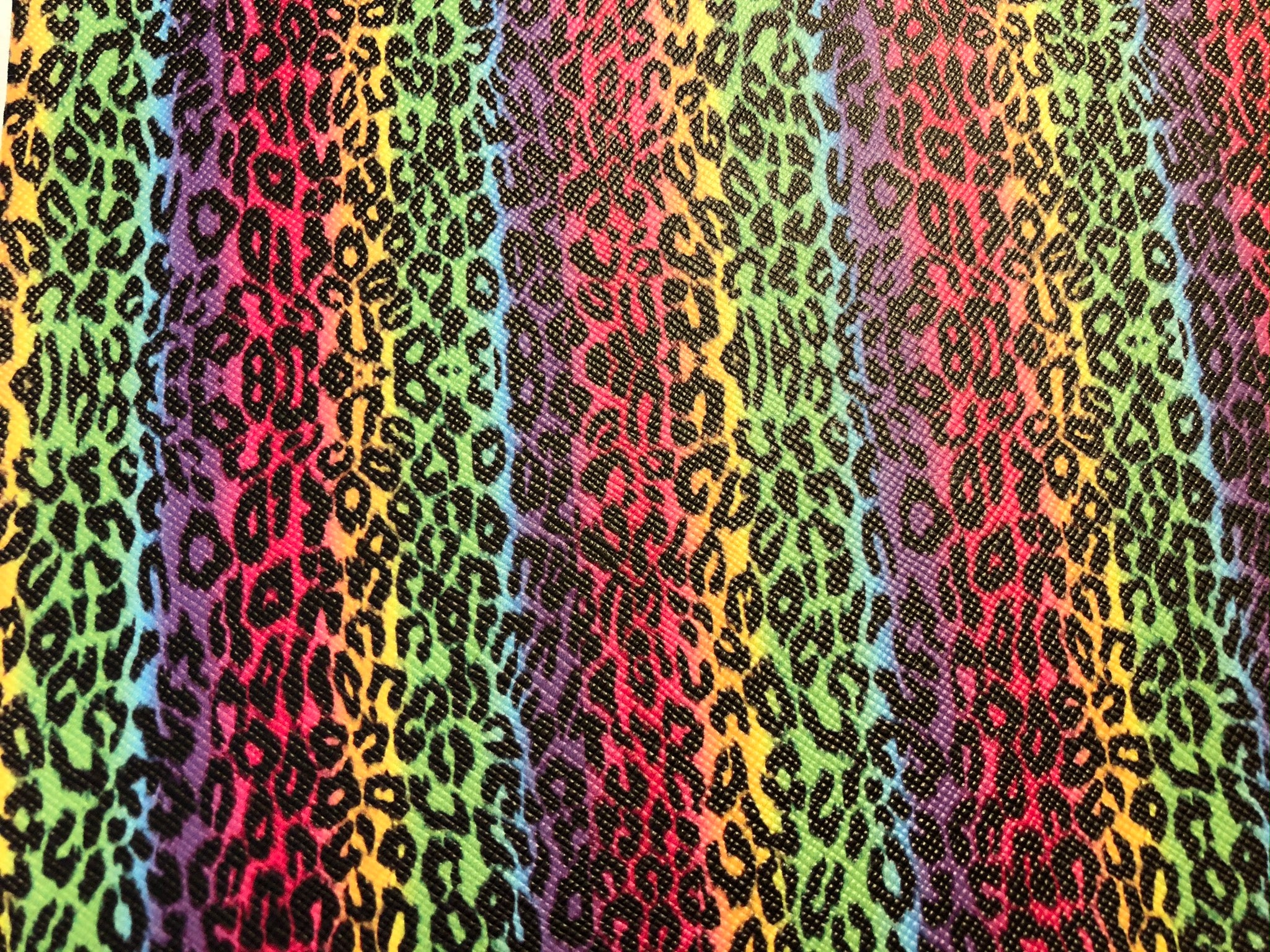 Rainbow Leopard - Black