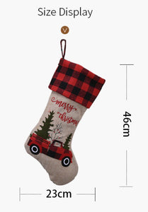 Christmas Truck Stocking