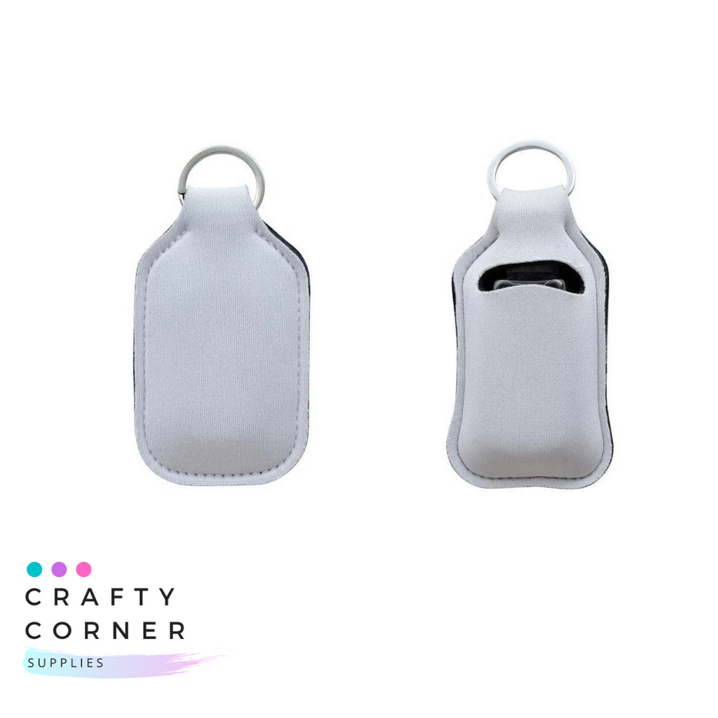 Sanitizer Bottle Keychain