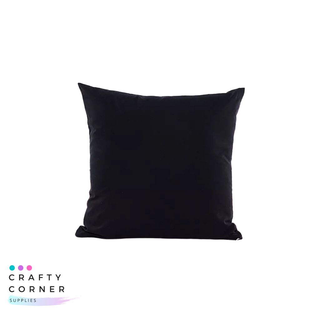 Polyester Pillow Case Black