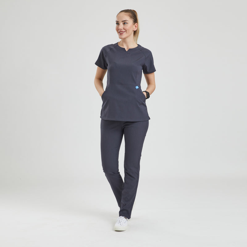 Elegant Scrub Top