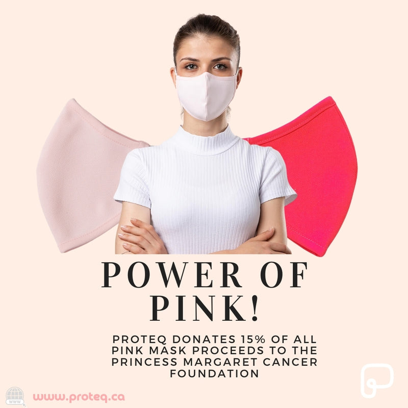 Power of Pink - Silver Ion Technology Reusable Face Mask
