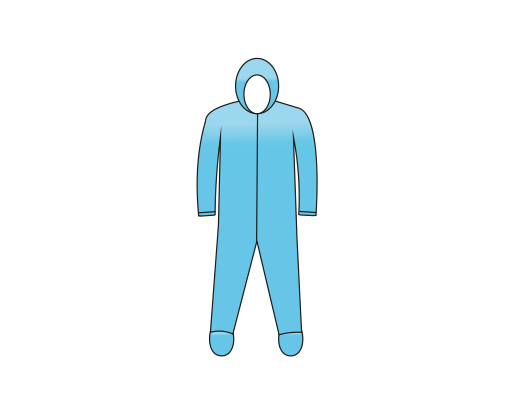 Isolation Coverall (With Socks)
