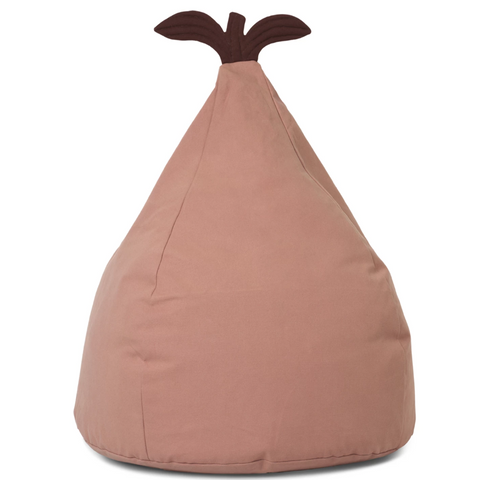 Pear Bean Bag Dusty Rose
