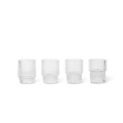 Ripple Small Glasses set of 4