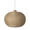Ferm Living paralume Braided Belly naturale