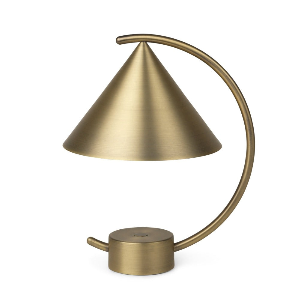 Ferm Living Meridian Lamp, Brass