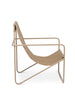 Ferm Living Desert Lounge Chair Cashmere/Solid Cashmere