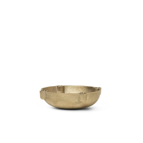 Bowl Candle Holder - Brass