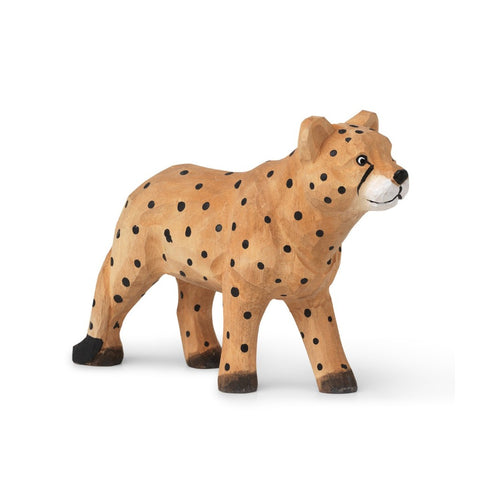 Hand-Carved Animal Cheetah