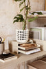 Ferm Living Ceramic Basket Off-White Small