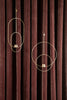 Hanging Tealight Deco - Oval - Brass by Ferm Living