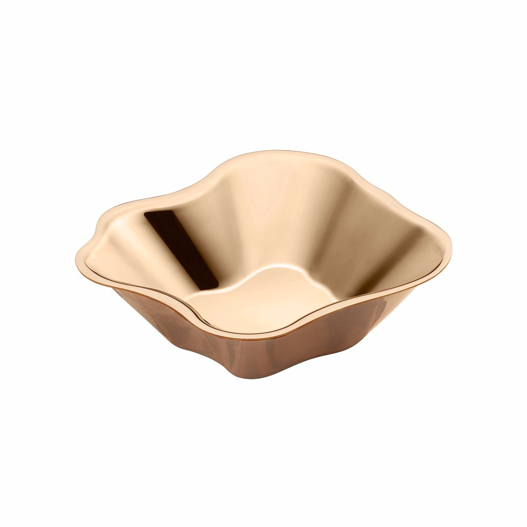 Alvar Aalto Collection bowl rose gold 50x182mm