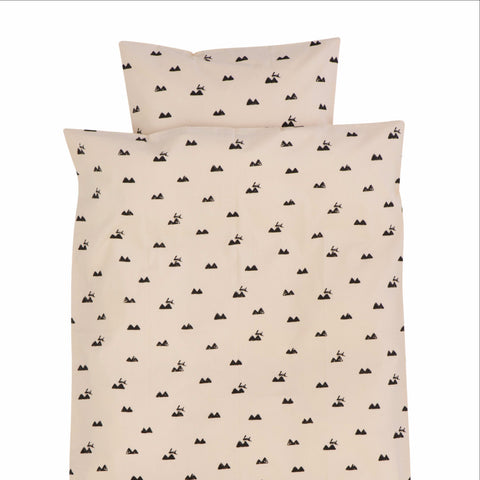 Rose Rabbit Baby Bedding