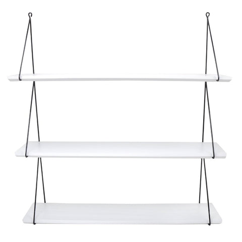 Babou 3 shelves white