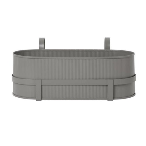 Bau Balcony Box - Warm Grey