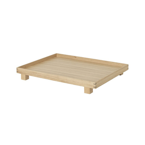 Bon Wooden Tray Large, Oak