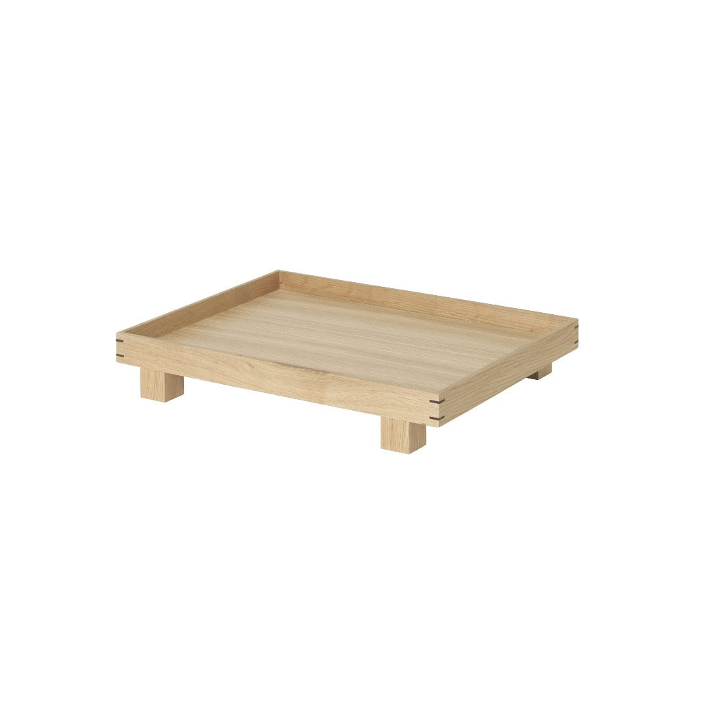 Ferm Living Bon Wooden Tray Small, Oak