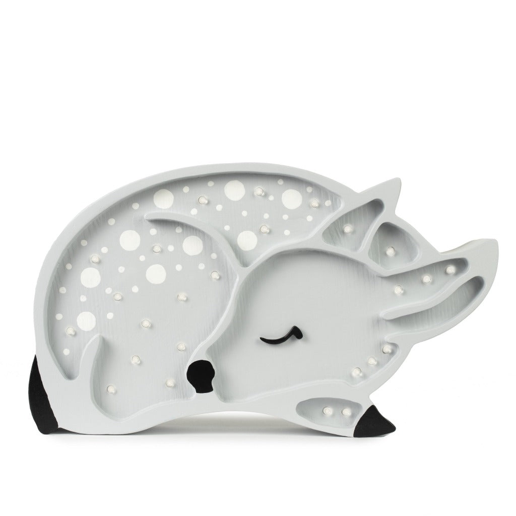 Little Lights Deer Lamp, Light Grey