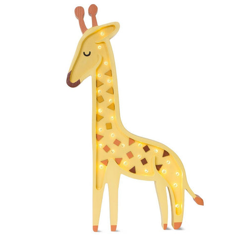 Giraffe Lamp, African Yellow