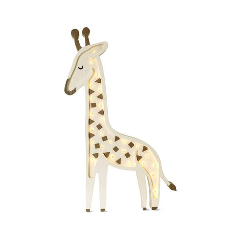 Giraffe Lamp, Savannah Beige