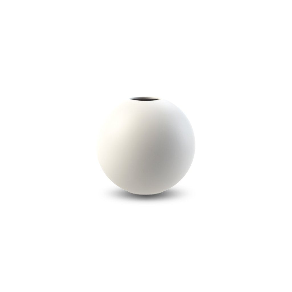 Cooee Design vaso Ball 10 cm bianco