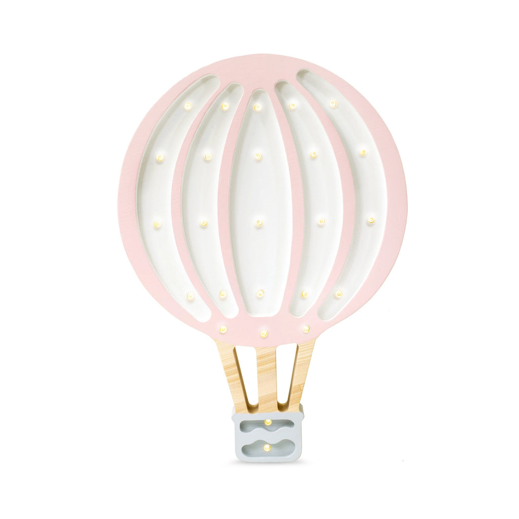 Little Lights Balloon Lamp, Powder Pink