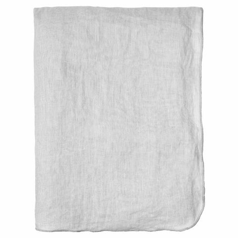 Gracie Tablecloth 100 % linen, light grey