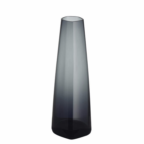 Iittala X Issey Miyake Collection vase dark grey