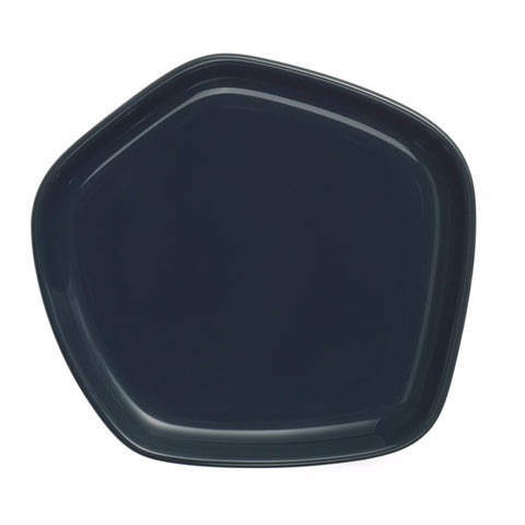 Iittala X Issey Miyake Collection plate, green small