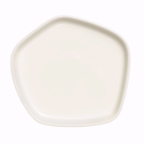 Iittala X Issey Miyake Collection plate, white small