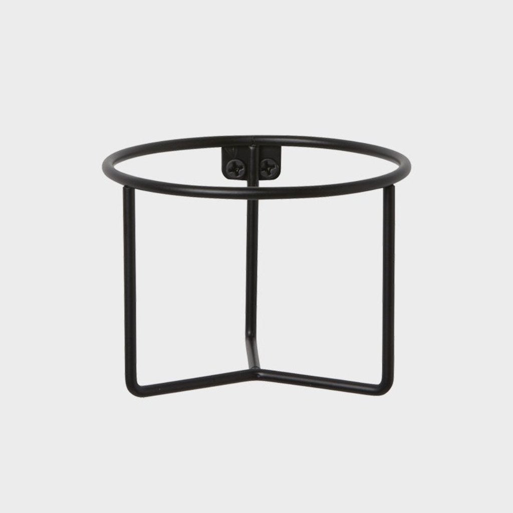 Plant Holder portavaso nero di Ferm Living