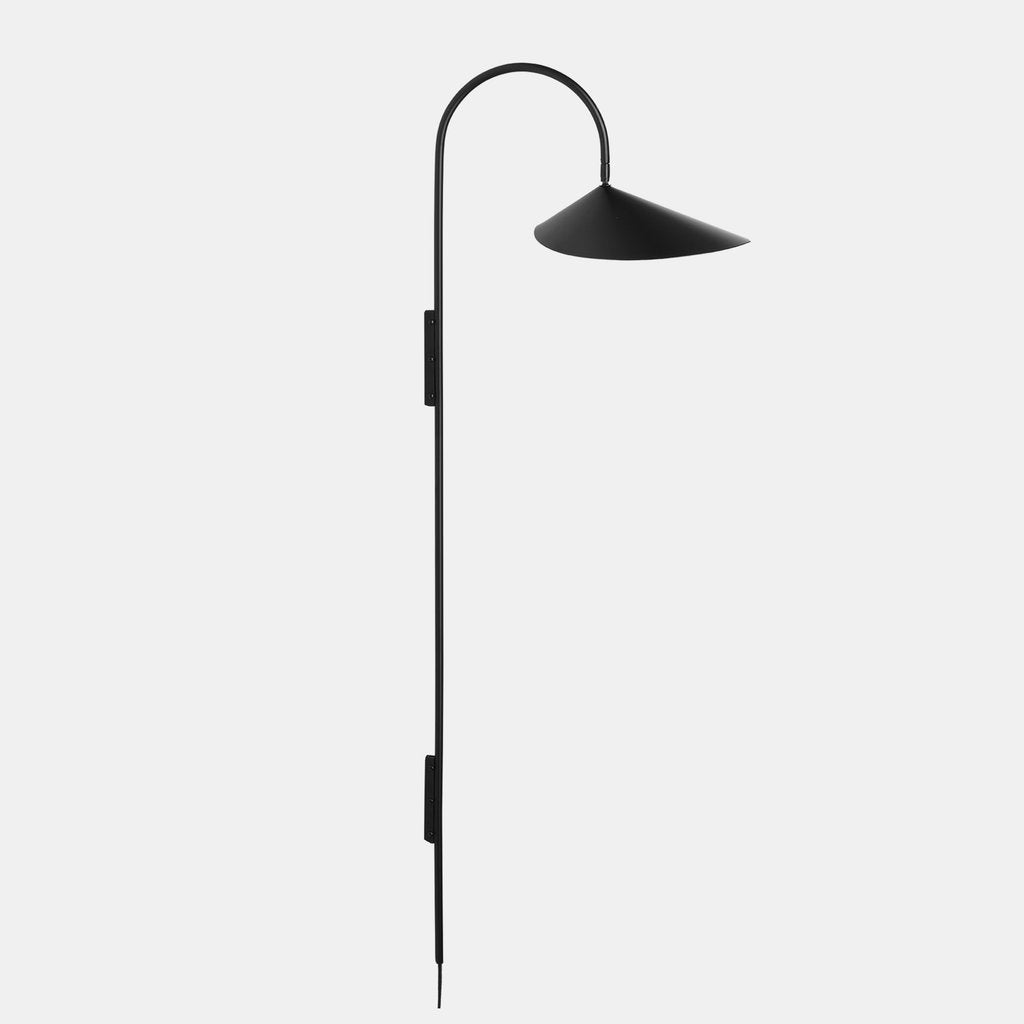 Ferm Living Arum Tall Wall Lamp Black