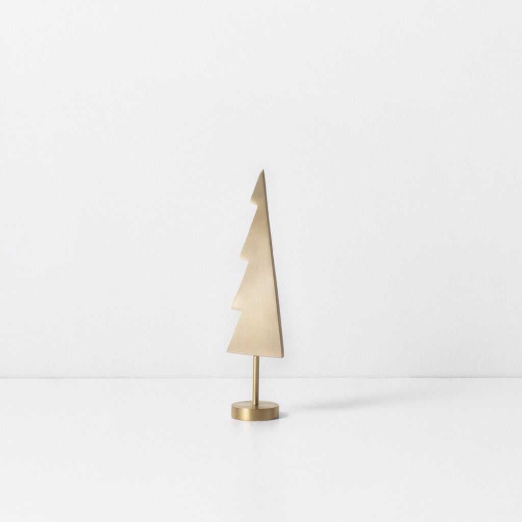 Ferm Living Winterland Brass Tree Solid