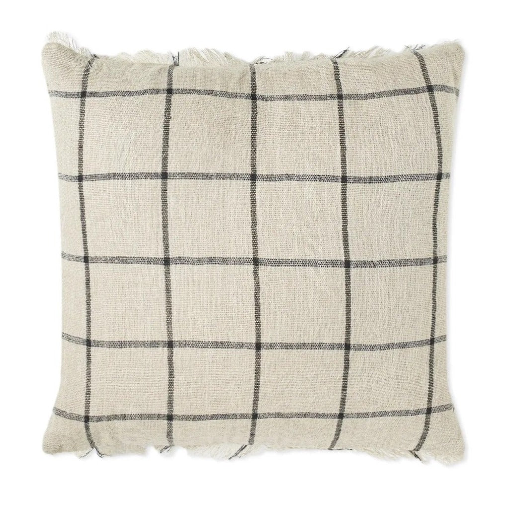 Ferm Living Calm Cushion 50x50cm Camel/Black