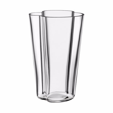 Alvar Aalto Collection vase 220 mm clear