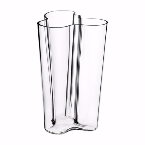 Alvar Aalto Collection Finlandia vase 251 mm clear