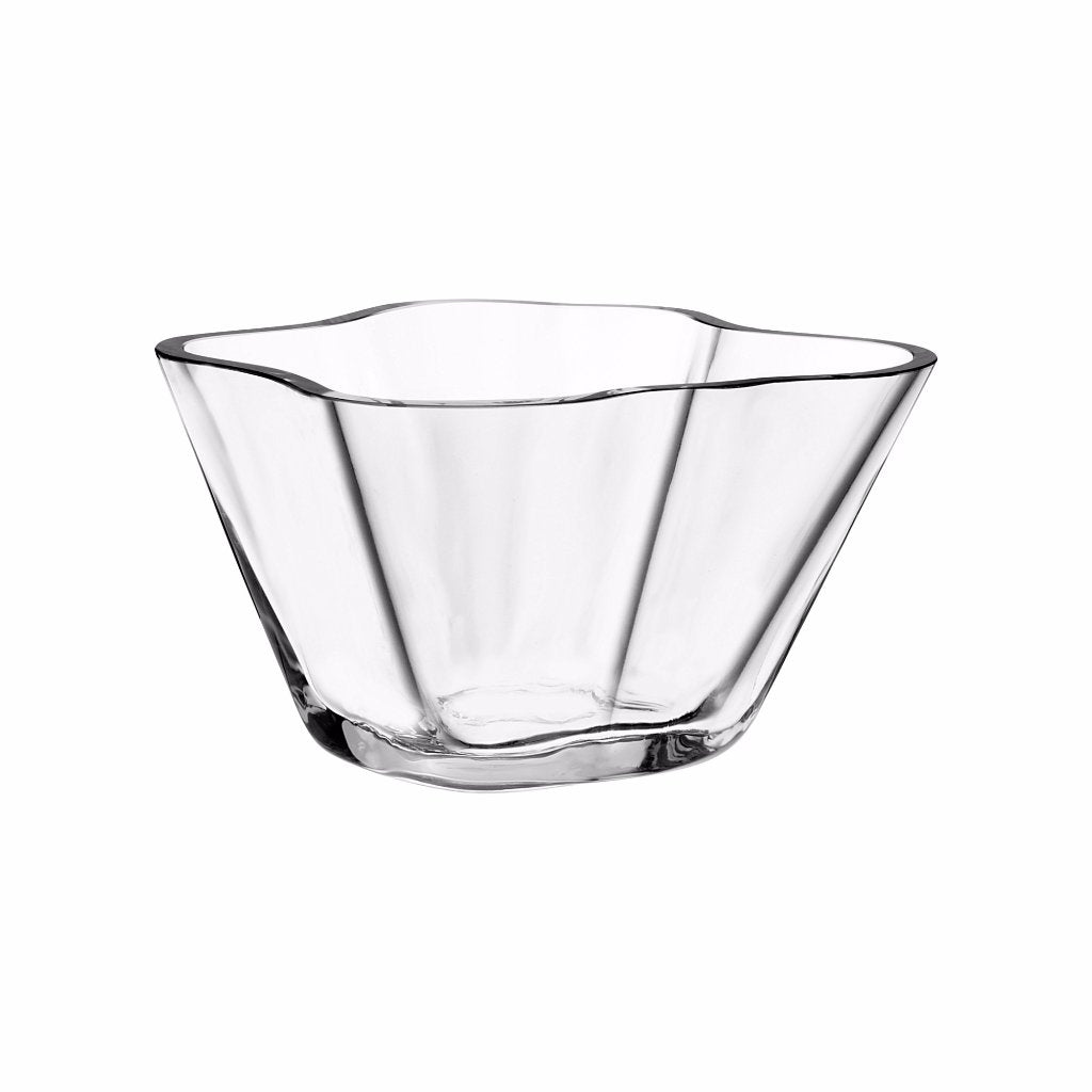Aalto collection bowl 75 mm clear by Iittala